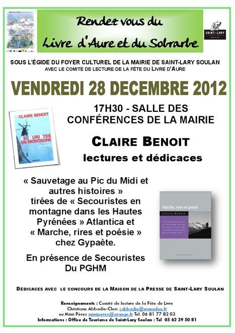 Claire Benoit le 28 décembre à Saint-Lary | Vallée d'Aure - Pyrénées | Scoop.it