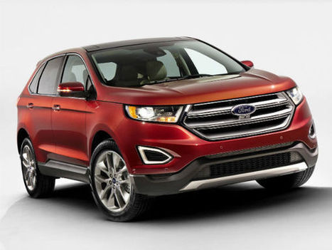 2015 Ford Edge Revealed As Global Crossover | Drivespark Automobile News | Scoop.it