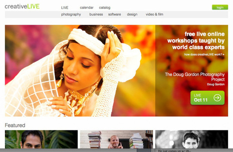 With new SF studio, online education startup creativeLIVE looks even more like a cable TV channel   Formação online   Scoop.it