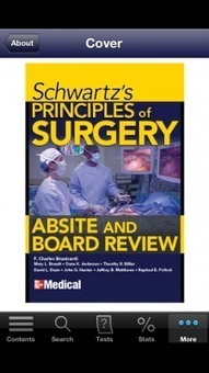 Schwartz's Principles of Surgery ABSITE and Board Review app ideal preparation for surgical exams | Medisch onderwijs : innovatie door technologie | Scoop.it