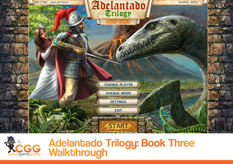 Adelantado Trilogy: Book Three Walkthrough: From CasualGameGuides.com | Casual Game Walkthroughs | Scoop.it