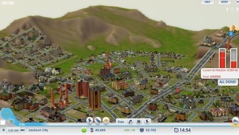 GlassLab launches educational version of SimCity for fighting pollution | JUST TOOLS | Scoop.it