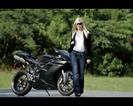 Ducati 848 EVO Motorcycle Model Laura | SpeedTV.com | Ductalk Ducati News | Scoop.it