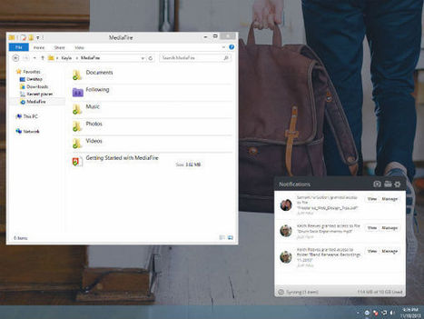 File-Sharing Giant MediaFire Adds Desktop Syncing and Online Streaming Support   Intellectual Property   Scoop.it