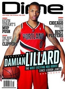 Dime #72: Damian Lillard is the Most Exciting NBA Rookie Since LeBron James | Staub NBA | Scoop.it