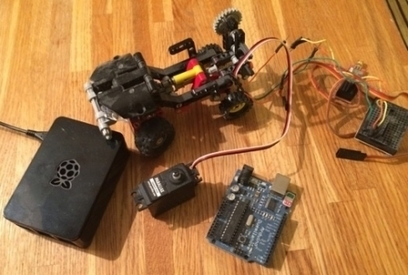 Developer Seeks Arduino Robotics API Funding - ProgrammableWeb | Raspberry Pi | Scoop.it
