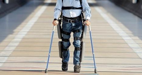 ReWalk: Feu de vert la FDA pour la commercialisation d'un exosquelette robotisé | Le blog des news santé | Médicaments et E-santé | Scoop.it