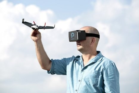 Wanna be a bird? PowerUp: A 'Paper airplane' drone will give you real-time #VR flight experience | Gamificazione: Gamify your business | Scoop.it