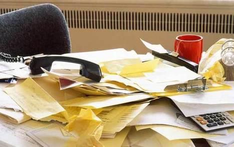 Vad ett stökigt skrivbord säger om dig | Psykologi i GiP | Scoop.it
