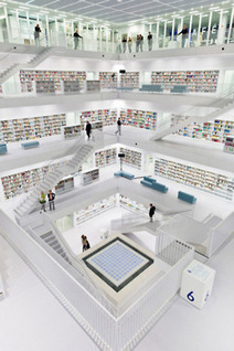 Stuttgart City Library - one of The 25 Most Beautiful Public Libraries in the World) | architecture, technology & business | Scoop.it