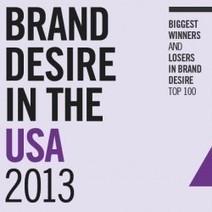 Brand Desire in the US 2013 | i social media danno i numeri | Scoop.it