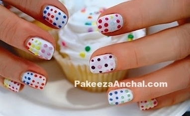 Trendy Nail Art Designs 2016, New Year Nail Art Paint Designs for Girls | Indian Fashion Updates | Scoop.it