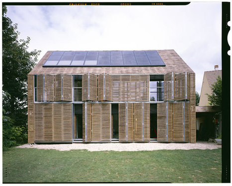 Il progetto Karawitz: casa passiva in Francia - Housing | scatol8® | Scoop.it