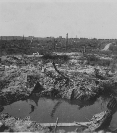Aftermath: Desolation at the Menin Road, Ypres 1920 | Great War 1914-18 | Scoop.it