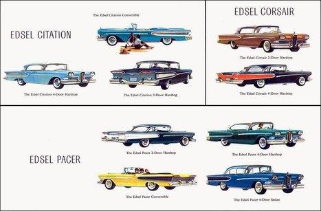 4 lessons from the failure of the Ford Edsel, one of Bill Gates' favorite case studies | @nebmarketing - Notizie e novità sul Marketing | Scoop.it