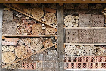 Native Bee Houses | Gardening Life | Scoop.it