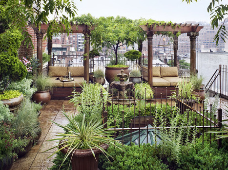 New York City penthouse with a garden paradise | House Porn | Scoop.it