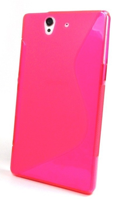 Pink S Line Gel Case for Sony Xperia Z(L36H) - Sony Mobile Accessories | Mobile Phone Accessories | Scoop.it