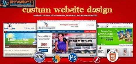 Tailor made Custom Website Design India to suit specific requirements   Organic Seo India   Scoop.it