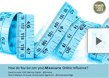 How do You (or can you) Measure Online Influence? | Social Media Strategist | Scoop.it