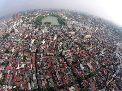Hanoi Old Quarter viewed from flying cameras - News VietNamNet   Expat Life in Hanoi   Scoop.it