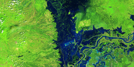 Fascinating Satellite Images of Earth's Ever-Changing Landscape   Science   WIRED   Remote Sensing   Scoop.it