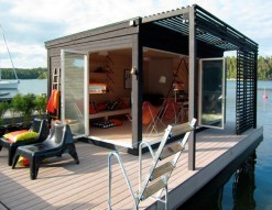 Kenjo: Cabin-Like Prefab Guest House or Studio - Design Milk | Sustainable Architecture + Construction | Scoop.it