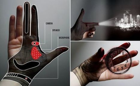 Hand-Tech Glove for gesture controlled augmented reality | REALIDAD AUMENTADA Y ENSEÑANZA 3.0 - AUGMENTED REALITY AND TEACHING 3.0 | Scoop.it