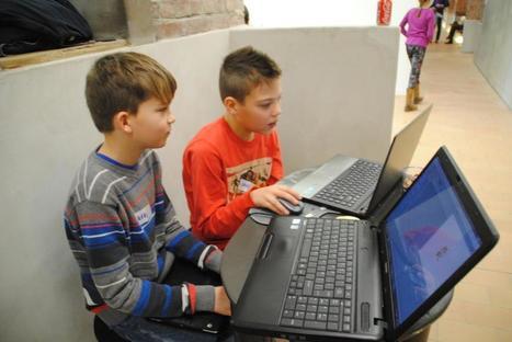 Kinderen leren programmeren in C-mine crib - Het Nieuwsblad | Informatica in het voortgezet onderwijs | Scoop.it