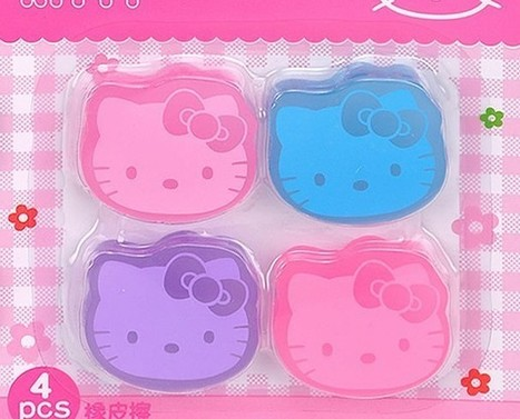 Aliexpress.com : Buy Unique Hello Kitty Eraser 4 pieces included from Reliable hello kitty eraser suppliers on  Miss Lyra | Hello Kitty | Scoop.it