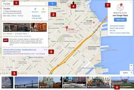 La nouvelle interface de Google Maps | e-Tourism and hospitality | Scoop.it