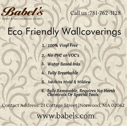Fully Removable Eco Friendly Wallcoverings | Babels Paint and Decorating Stores | Scoop.it