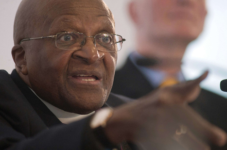 Tutu says he cannot worship 'homophobic' God | MacPhail Human Rights | Scoop.it