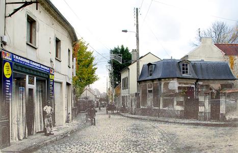 La rue de Paris à Montlignon... hier et aujourd'hui | Revue de Web par ClC | Scoop.it