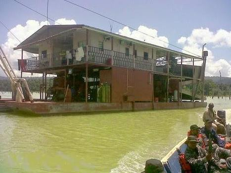 Suriname : l'affaire des barges du lac Brokopondo, le ministre bat en retraite | Guyane orpaillage illégal | Scoop.it