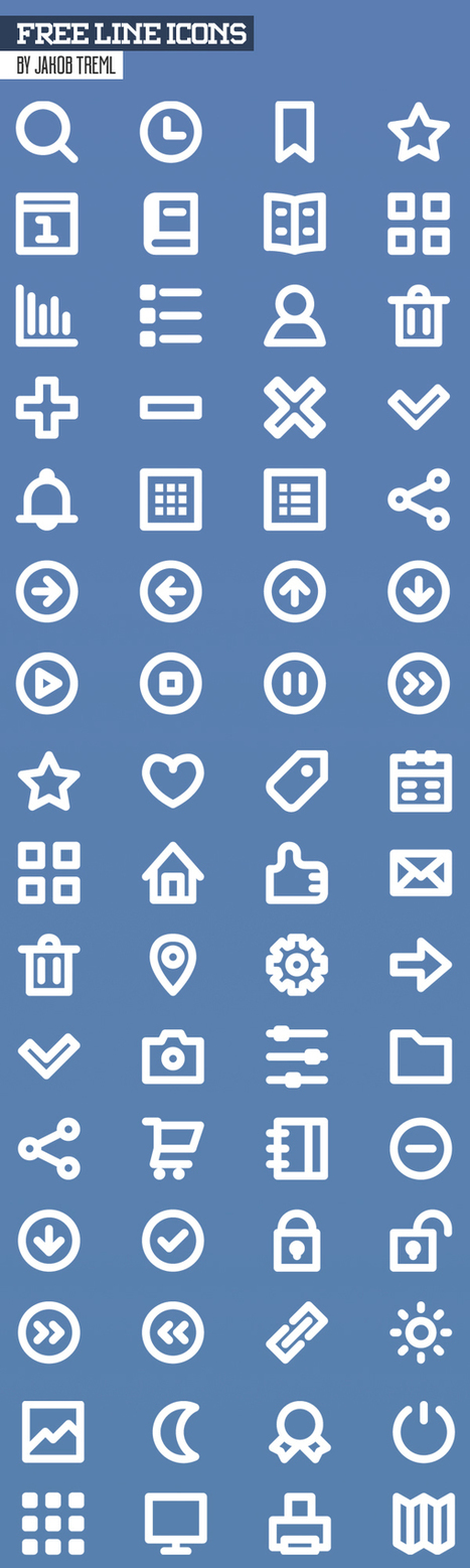 Free PSD Icons: 450+ Icons for Designers | EDUCACIÓN 3.0 - EDUCATION 3.0 | Scoop.it