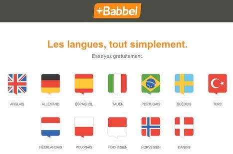 BABBEL | Vu sur internet | Scoop.it