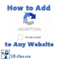 How and Why to Add reCaptcha to WordPress | Allround Social Media Marketing | Scoop.it