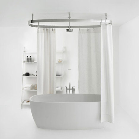Bathroom curtain ideas | Bathroom Design Ideas 2012 | Scoop.it