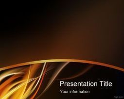 Fire Flame PowerPoint Template   Free Powerpoint Templates   Religious   Scoop.it