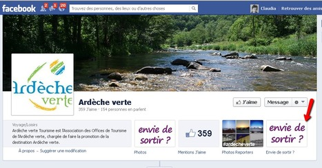 Page Facebook de l'Ardèche verte   Tourisme pédestre (2013-2014)   Scoop.it