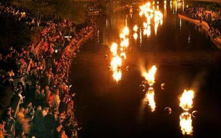 Unions, as well as metal and paint companies, pitch in to make KC's WaterFire crackle - KansasCity.com   OffStage   Scoop.it