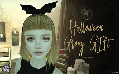 Bat Headband Group Gift by C'est la vie | Teleport Hub - Second Life Freebies | Second Life Freebies | Scoop.it