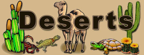Habitat Awareness Desert Page | Ecosystems: Constantly Changing | Scoop.it
