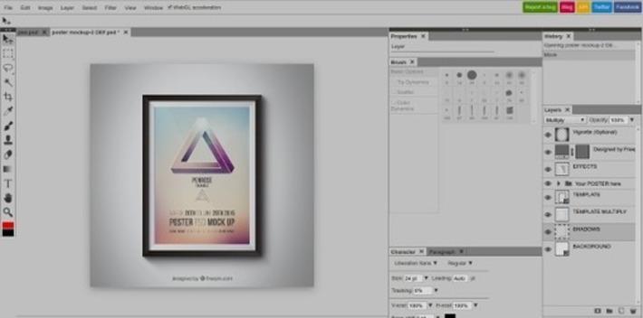 Photopea, une alternative gratuite à Photoshop ? | TIC et TICE mais... en français | Scoop.it