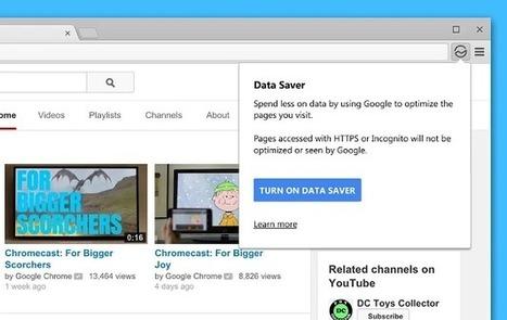Google apporte la compression de données à la version ordinateur ... - Developpez.com | netnavig | Scoop.it