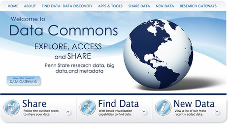 Data Commons connects researchers through data sharing - Penn State News | Research Public Access | Scoop.it