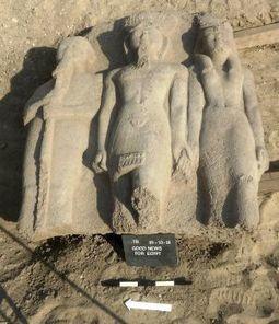 Hallan una estatua de Ramsés II con más de 3.000 años de antigüedad en Egipto | Enseñar Geografía e Historia en Secundaria | Scoop.it