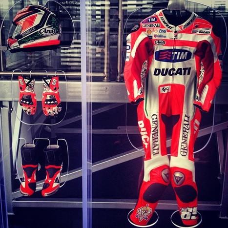 Photo by nicky_hayden • Instagram | Ductalk Ducati News | Scoop.it