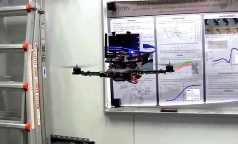 This Quadrotor Uses Google's Project Tango to Fly Autonomously | Robots in Higher Education | Scoop.it